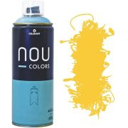 Tinta Spray Nou Colors 400ml Amarelo medio 70005