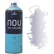 Tinta Spray Nou Colors 400ml Cromo Metálico 70048