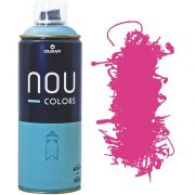 Tinta Spray Nou Colors 400ml Rosa magenta 70014