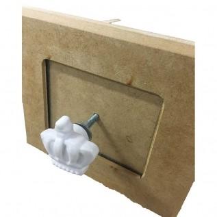 Aplique Puxador em Resina - PX007