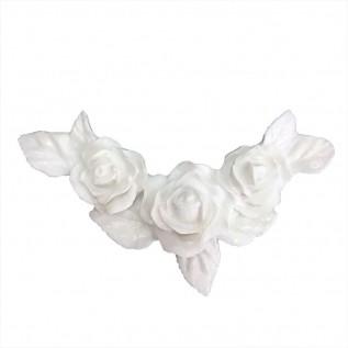 Aplique Flores em Resina - IV310