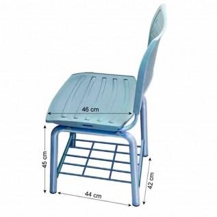 Cadeira Tubular TUB-CD45 P Trident
