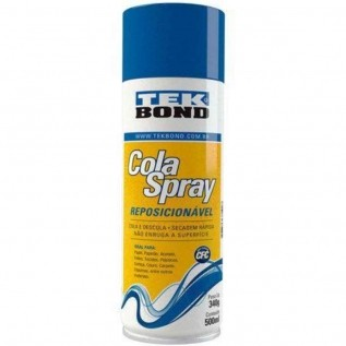 Cola Spray Reposicionável 340g/500ml - Tekbond