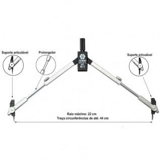 Compasso Técnico Mod.9012 - Trident