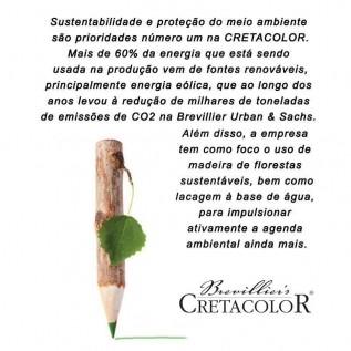 Estojo 24 cores Lápis Karmina 270 24 - Cretacolor