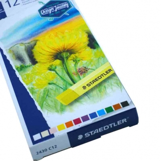 Estojo Giz Pastel Seco c/ 12 cores - Staedtler