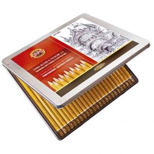 Estojo Metálico com 24 Lápis Graduado Mod.1504 - Kin Art