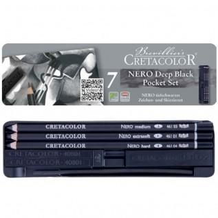 Estojo para desenho 7 peças 400 08 - Cretacolor