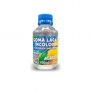 Goma Laca Incolor 100ml - Acrilex