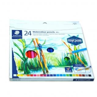 Lápis de cor Aquarelável c 24 cores - Staedtler