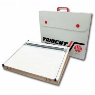 Prancheta portátil A3 com régua paralela Mod.5000 - Trident