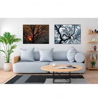 Quadro decorativo Árvores em canvas - AGAR029