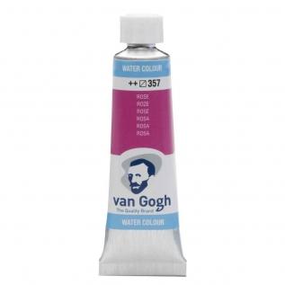 Tinta Aquarela Em Bisnaga Rosa 357 Van Gogh - Royal Talens 10ml