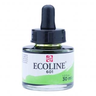 Tinta Aquarela Líquida Verde Brilhante 601 - Ecoline Talens 30ml