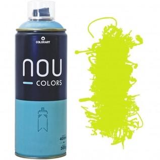 Tinta Spray Nou Colors 400ml Amarelo Luminoso 70042