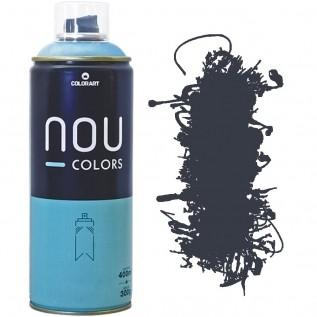 Tinta Spray Nou Colors 400ml Cinza escuro 70028