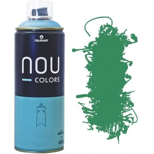 Tinta Spray Nou Colors 400ml Verde guaca 70030