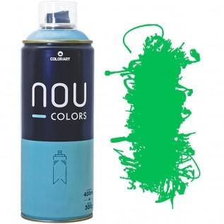 Tinta Spray Nou Colors 400ml Verde luminoso 70045