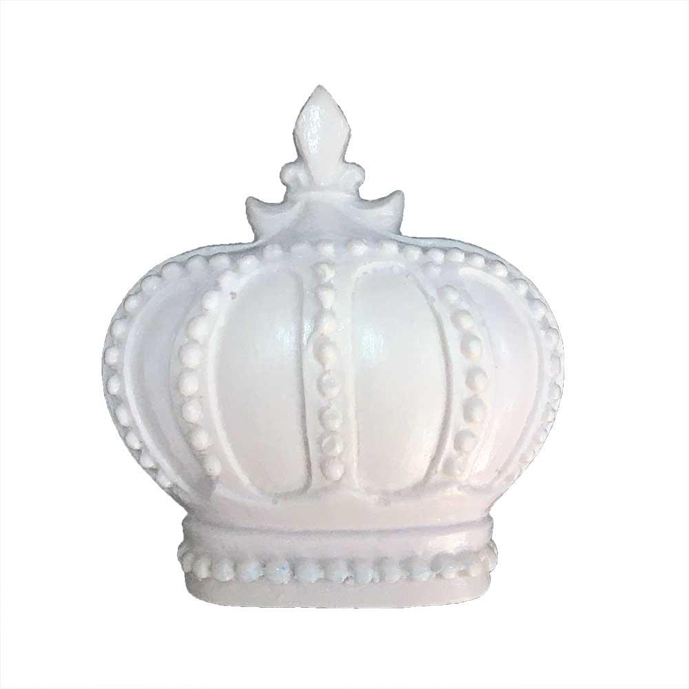 Aplique Coroa em Resina - IV463