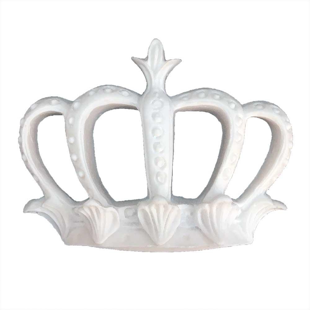 Aplique Coroa em Resina - IV546