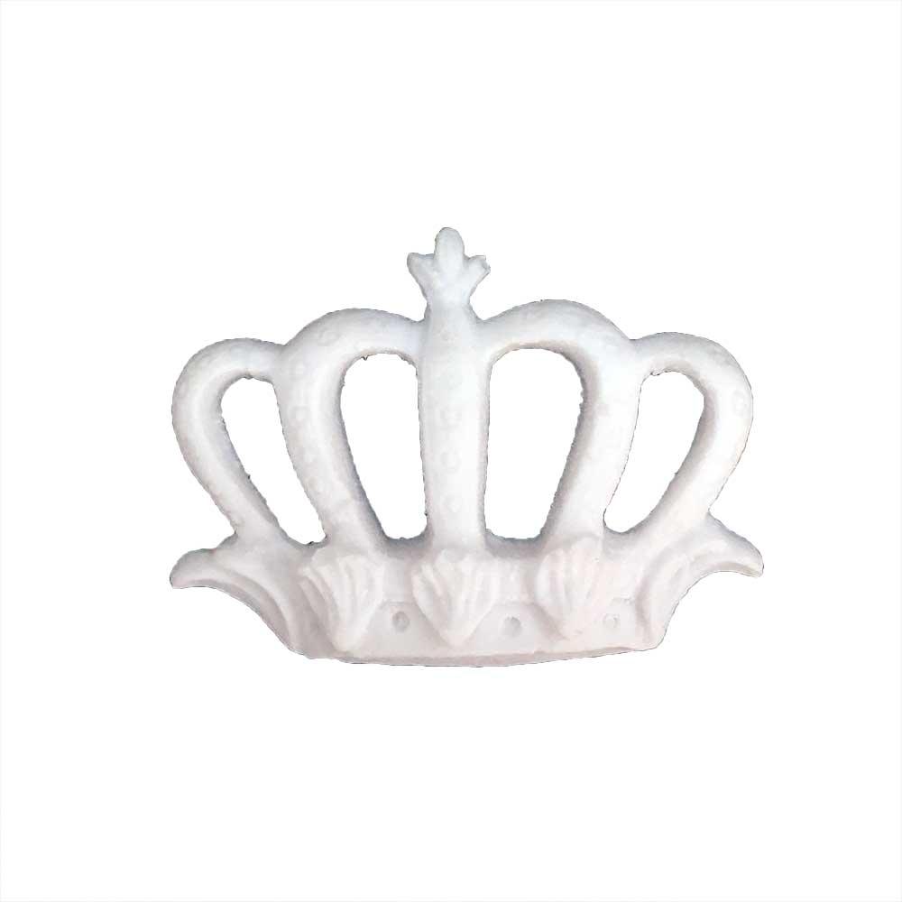 Aplique Coroa em Resina - IV606