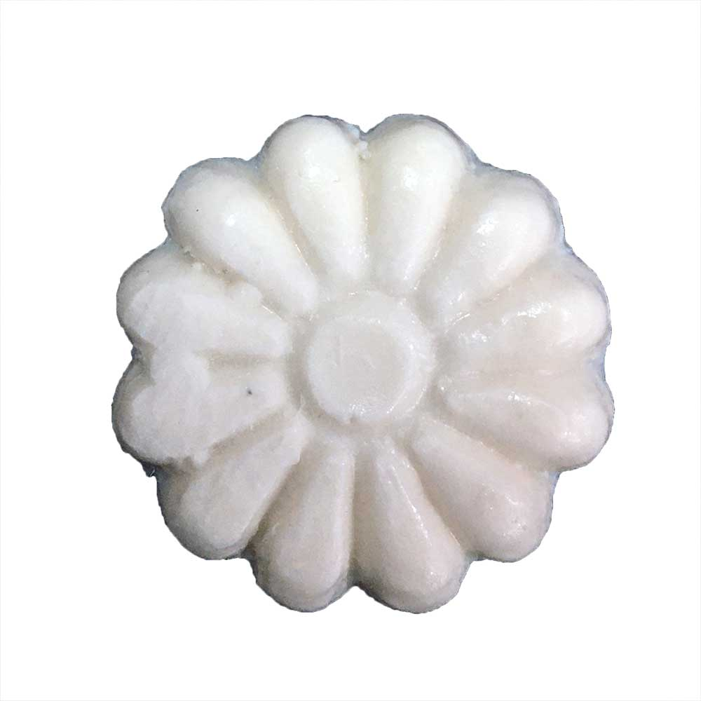 Aplique Flores em Resina c/4 Peças - IV115