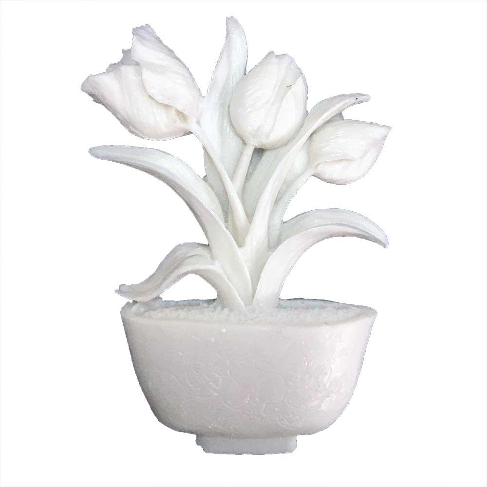 Aplique Flores em Resina - IV259