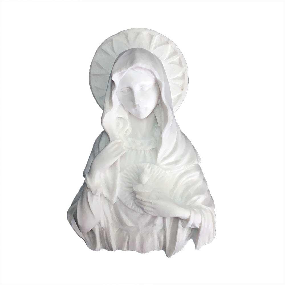 Aplique Nossa Senhora Resina - IV242