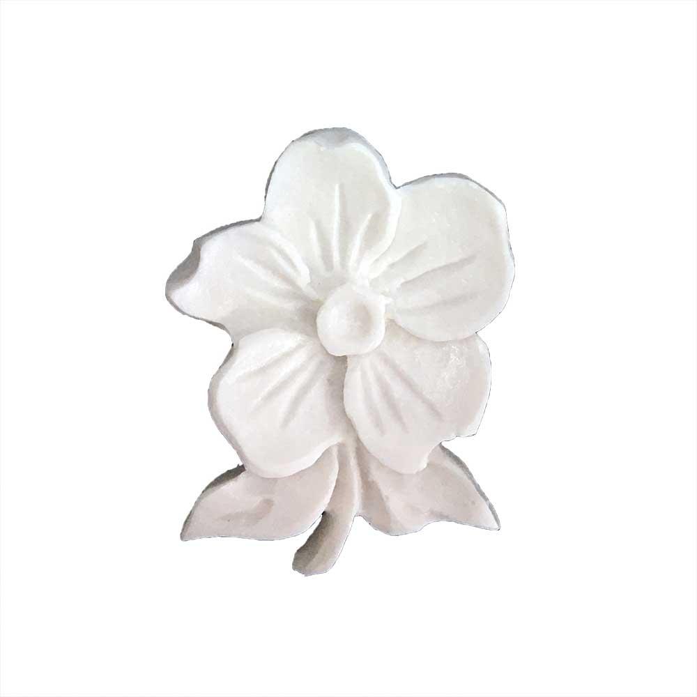 Aplique Flores em Resina com 2 peças - IV349