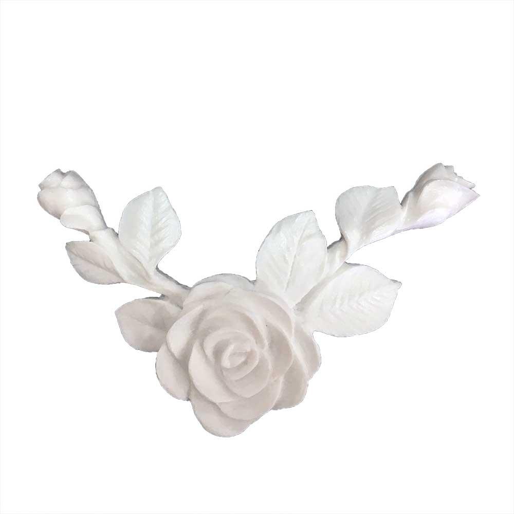 Aplique Flores em Resina - IV131
