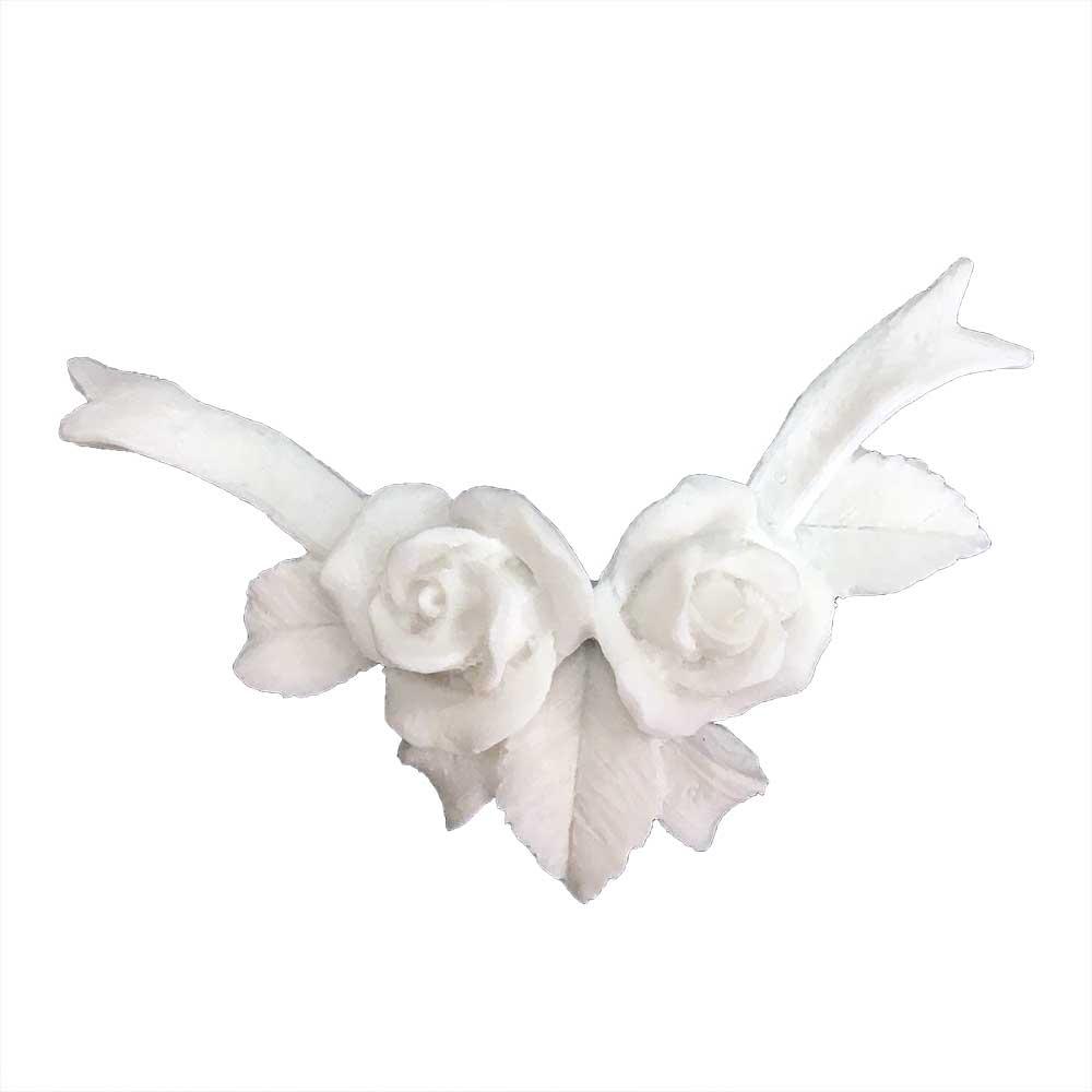 Aplique Flores em Resina - IV328