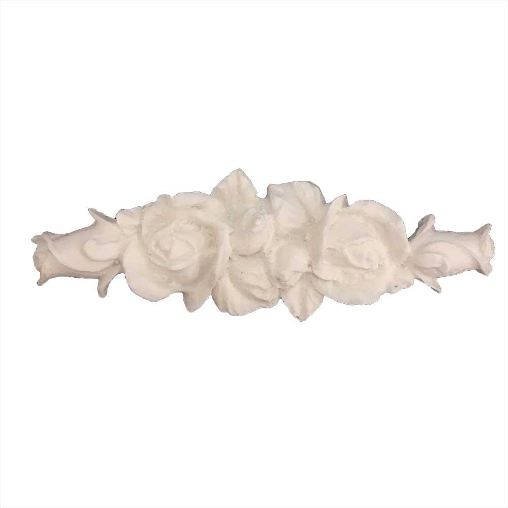 Aplique Flores em Resina - IV342