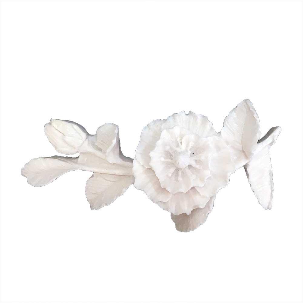 Aplique Flores em Resina - IV348