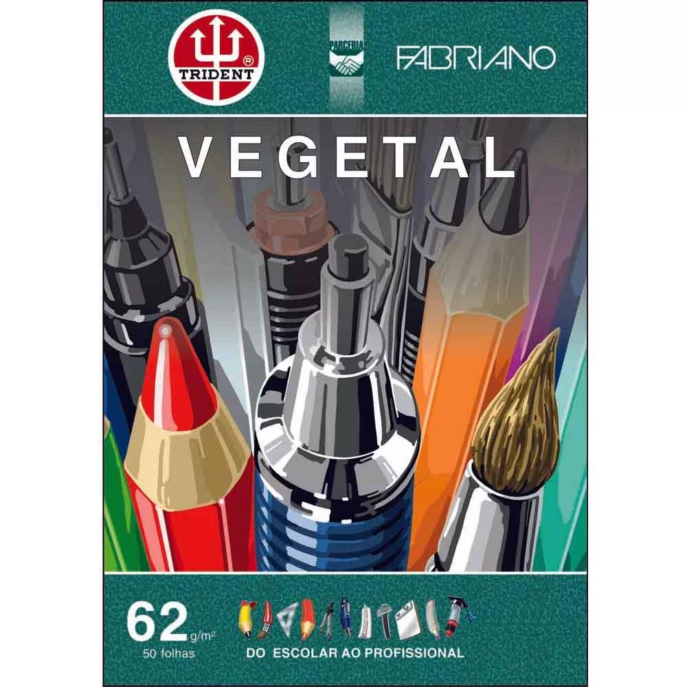 Bloco A4 c/50 folhas Vegetal 62g - Fabriano