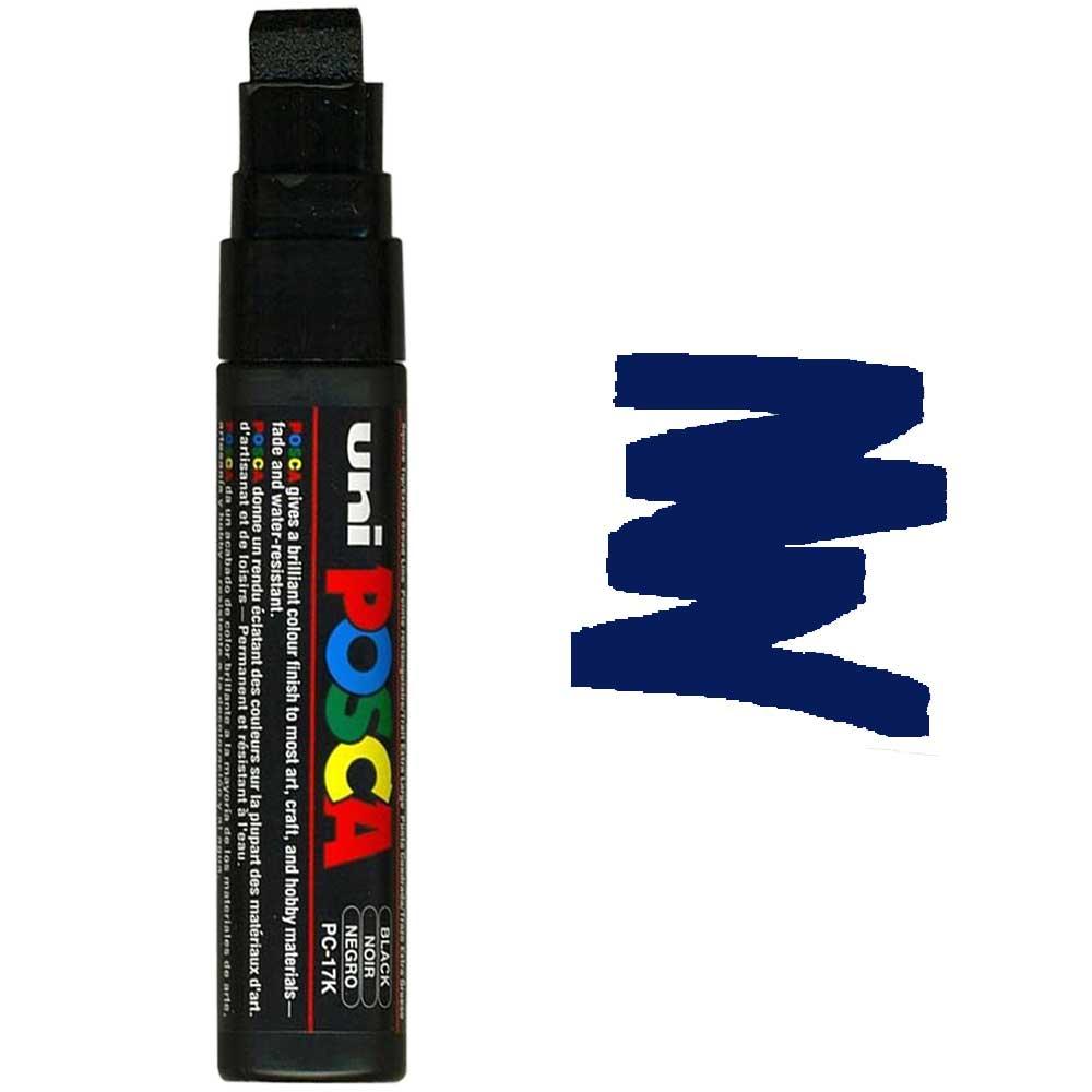 Caneta marcador Posca PC-17K Azul