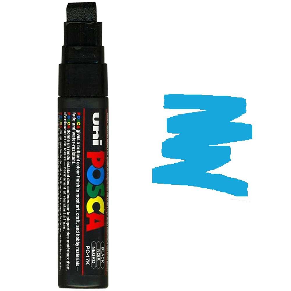 Caneta marcador Posca PC-17K Azul Claro