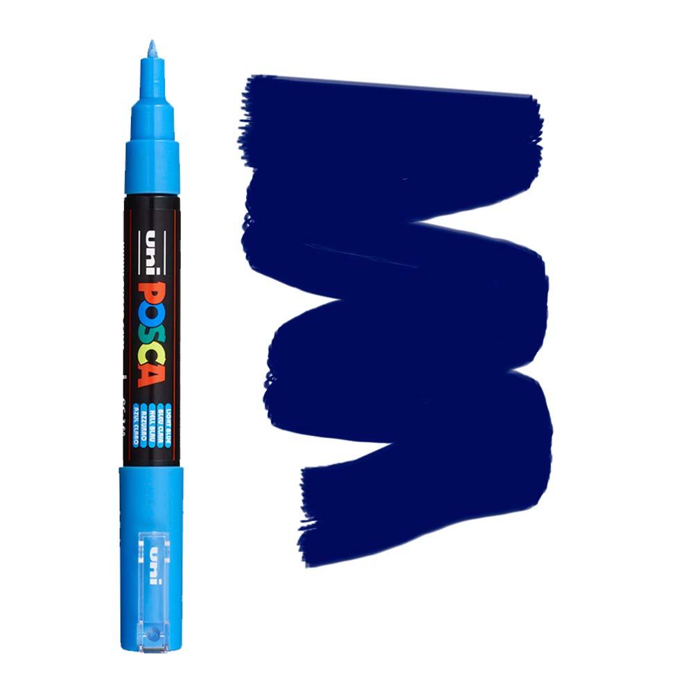 Caneta Marcador Posca PC-1M Azul