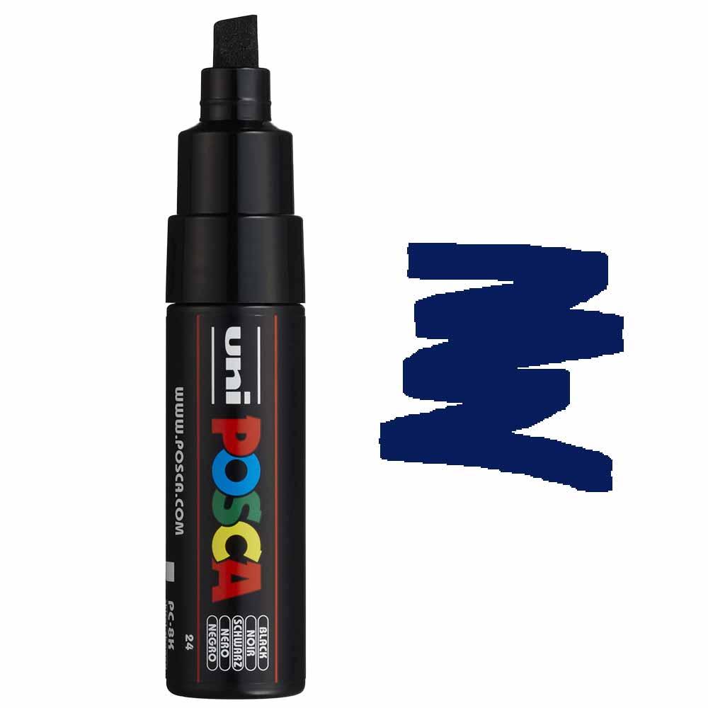 Caneta marcador Posca PC-8K Azul