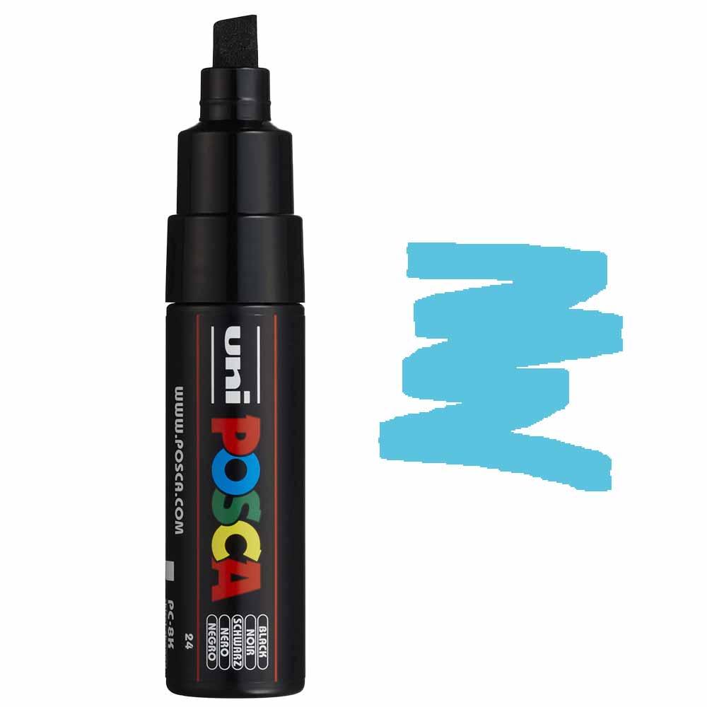 Caneta marcador Posca PC-8K Azul Claro