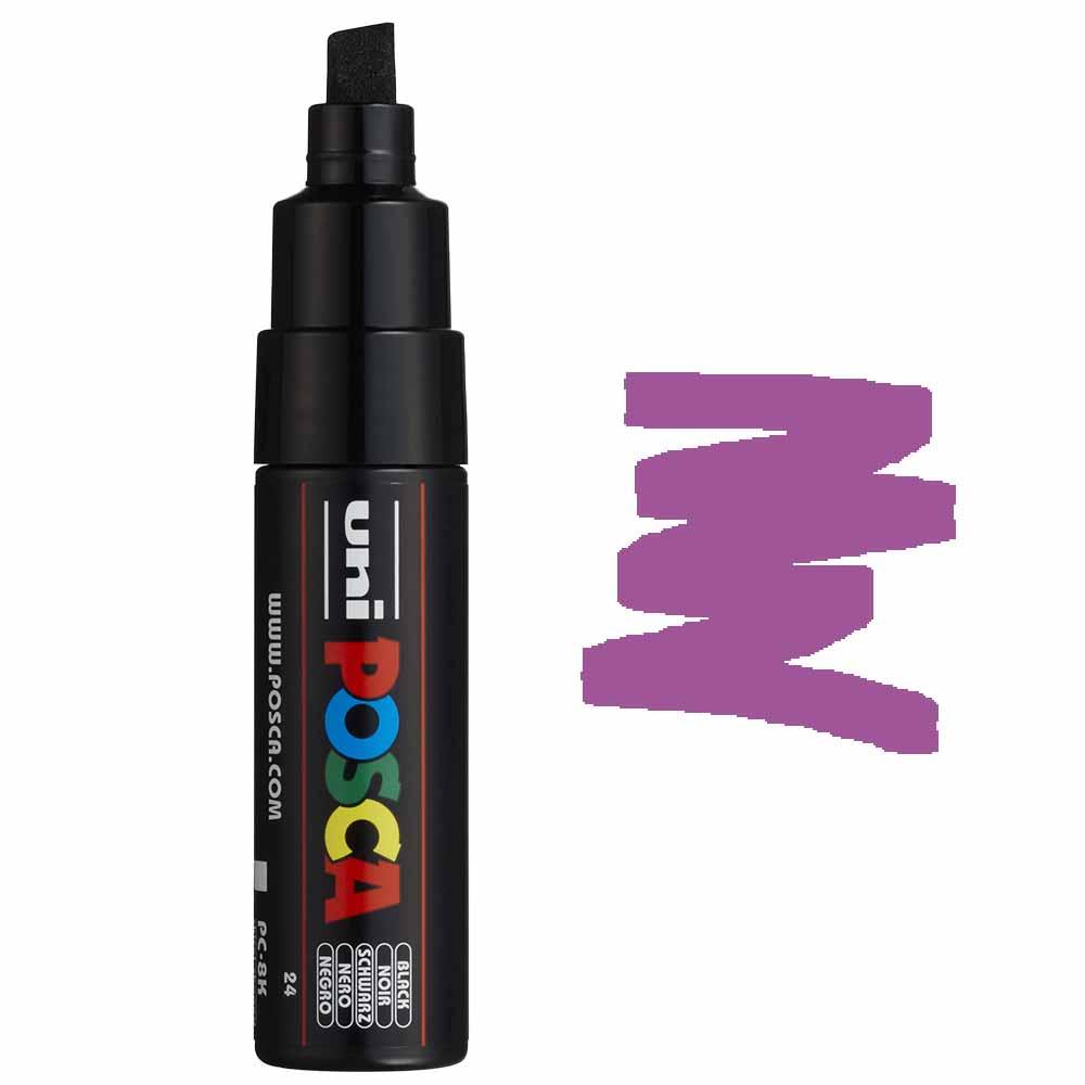 Caneta marcador Posca PC-8K Violeta