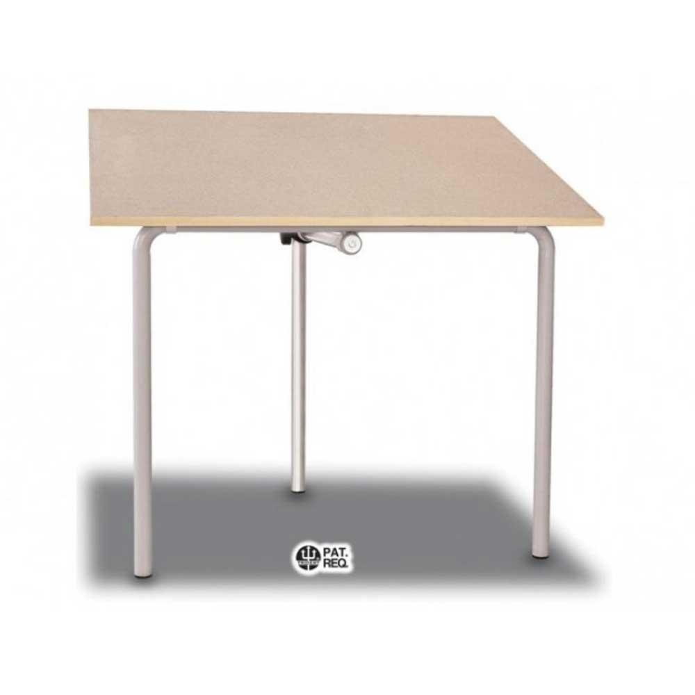 Cavalete para desenho TUB12 Branco 100x80cm Trident