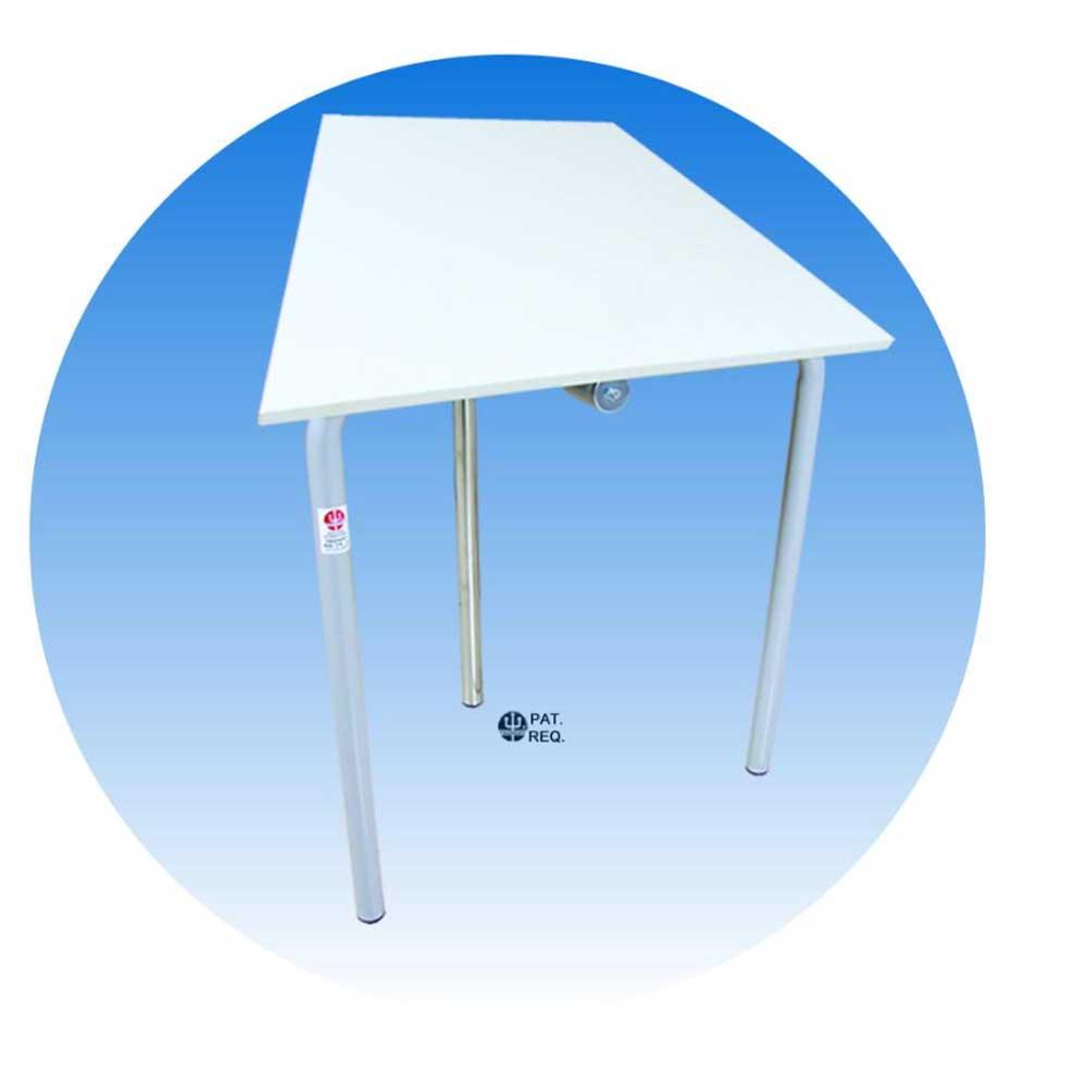 Cavalete pra desenho TUB12/TA4 Branco Trident