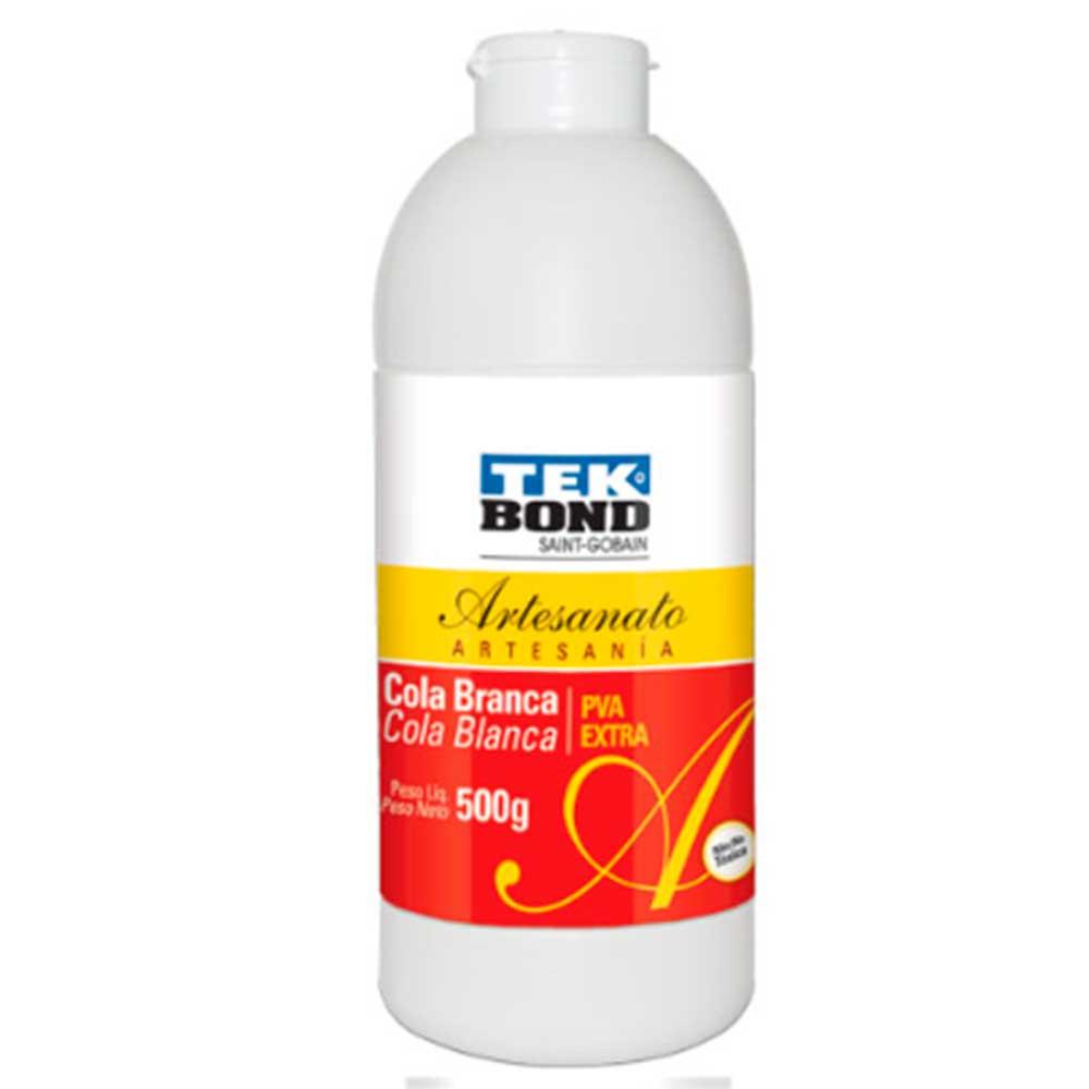 Cola Branca PVA Extra Artesanato 500g