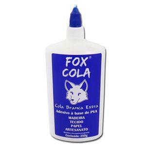 Cola Extra branca 250g - Fox