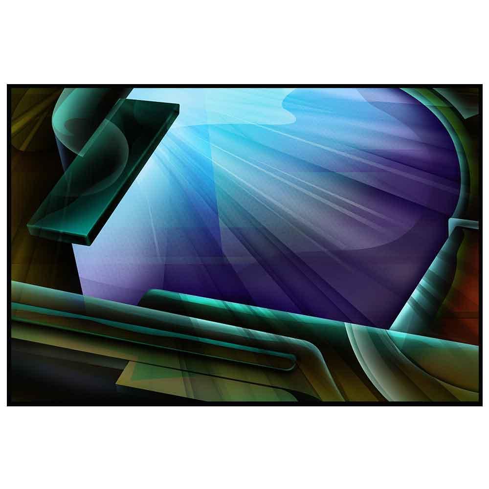 Quadro decorativo Abstrato em canvas - AGAB061