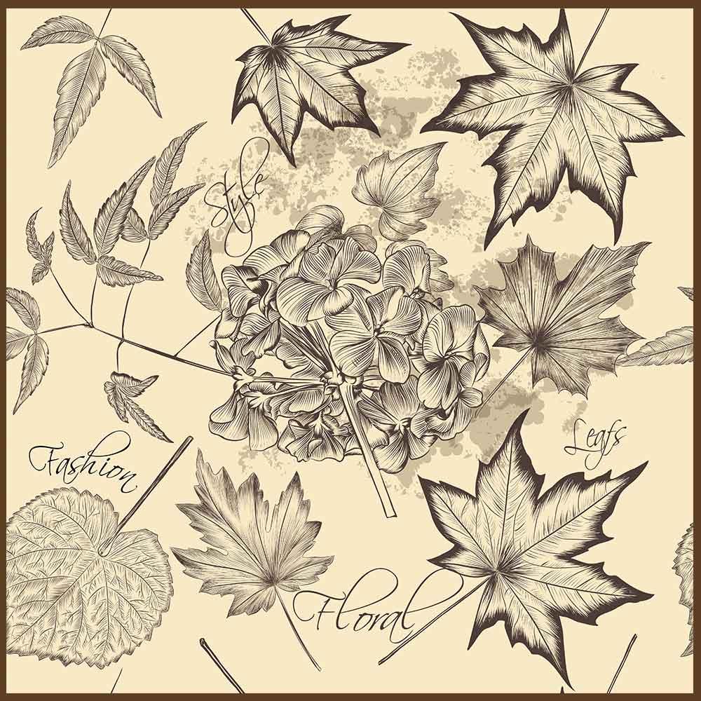 Quadro decorativo Flores em canvas - AGFL053