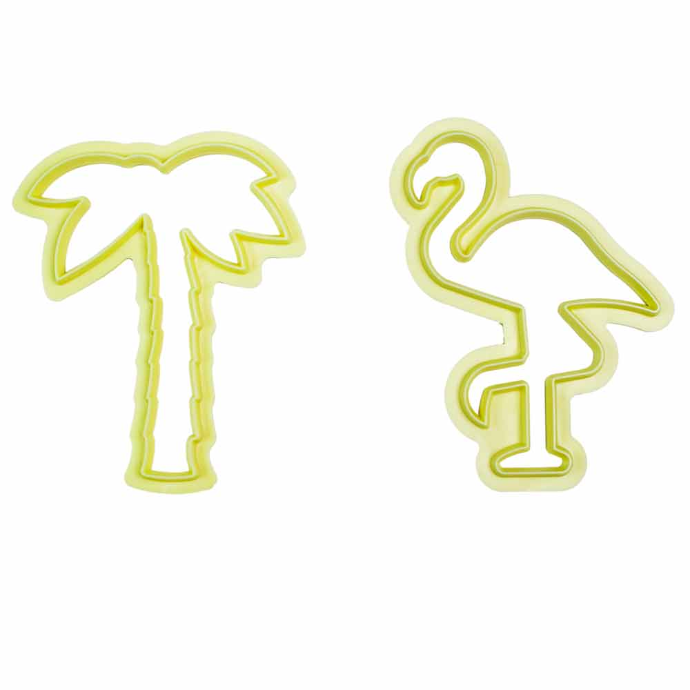 Cortador kit tropical para biscuit c/2 peças Bluestar