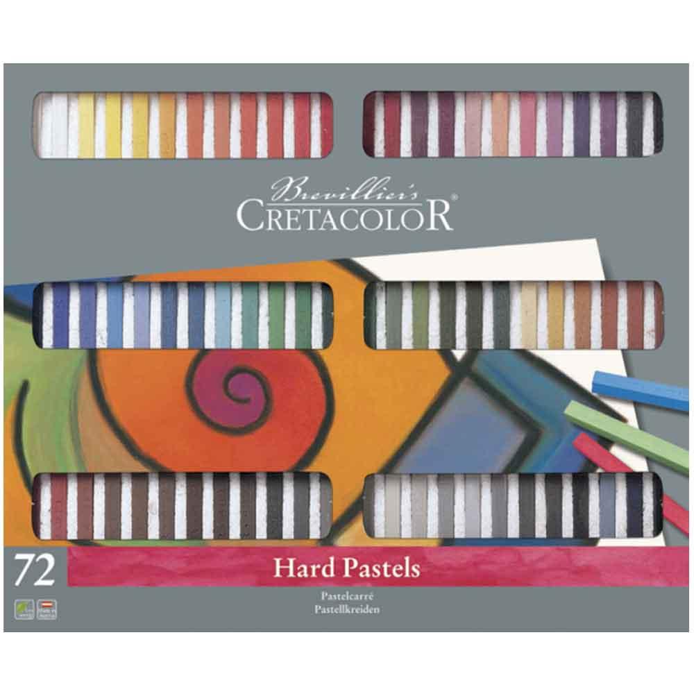 Estojo 72 cores pastel carre 480 72 - Cretacolor