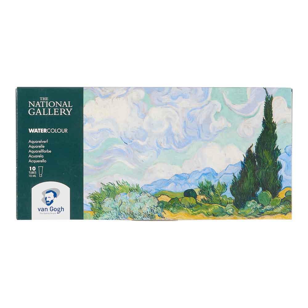 Estojo Aquarela em Pastilha Van Gogh c/18 cores - National Gallery