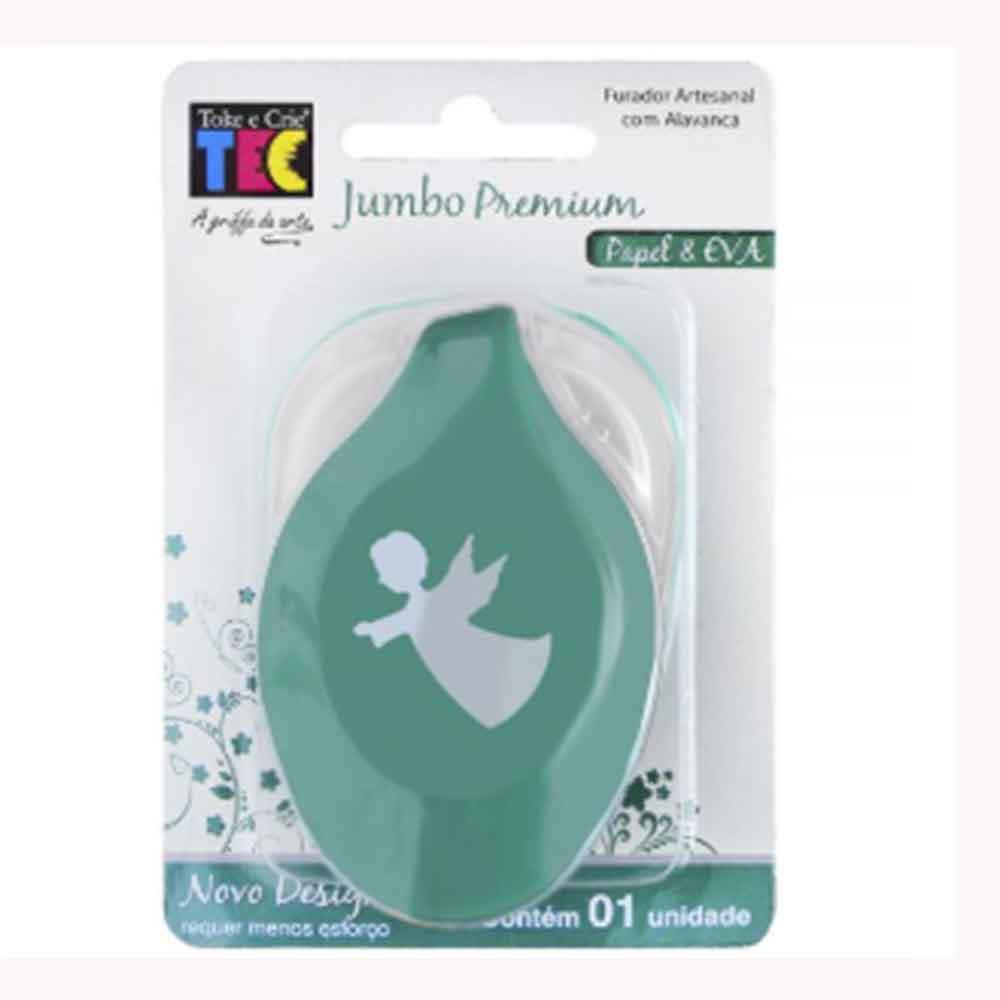 Furador Jumbo Premium Anjo - Toke e Crie